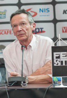 Patrice Leconte on press conference