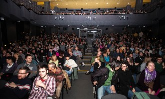 Sold screening of Banklady at Dom Omladina cinema