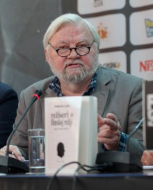 Nikola Stojanovic film director at press conference
