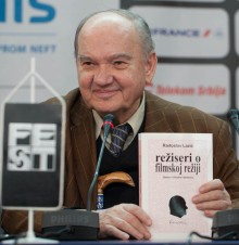 Radoslav Lacic promoting his book at press conference