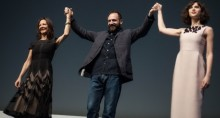Ralph Fiennes, Gabriella Tana and Felicity Jones Make Their Bows to FEST Audience!