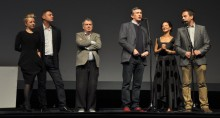 The crew of the film Philomena took the bow to the FEST audience before the screening of the film